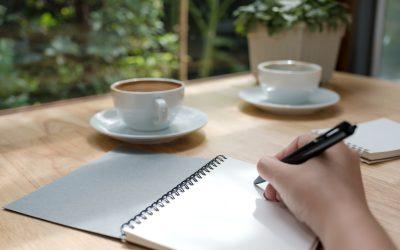 Schrijf op wat je wilt